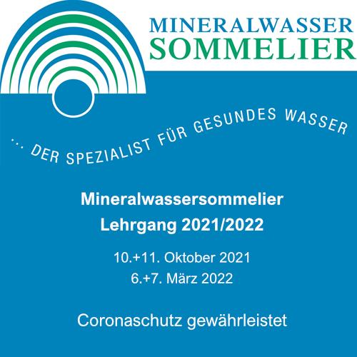 Mineralwassersommelier-Lehrgang 2021/2021